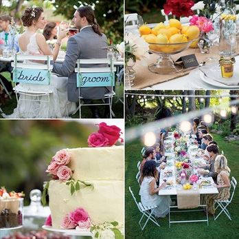 Seasonal Outdoor Wedding